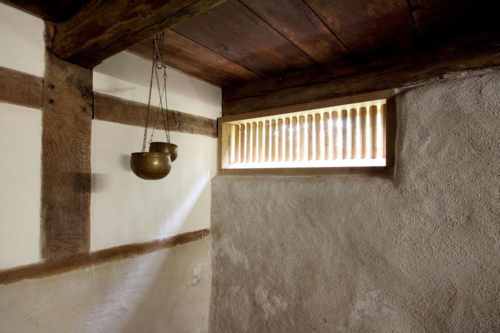 Kellerfenster Lehmbau
