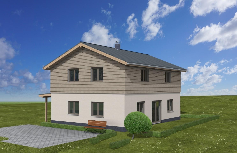 Hausbau großzügiger Grundriss